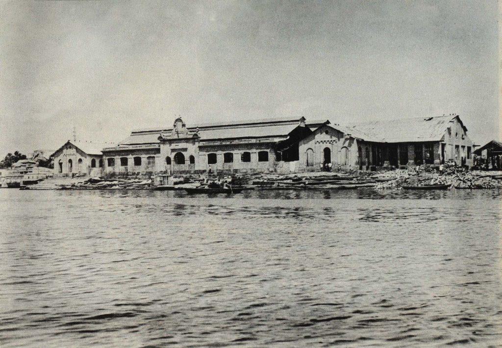 Antigo Matadouro Municipal em 1974