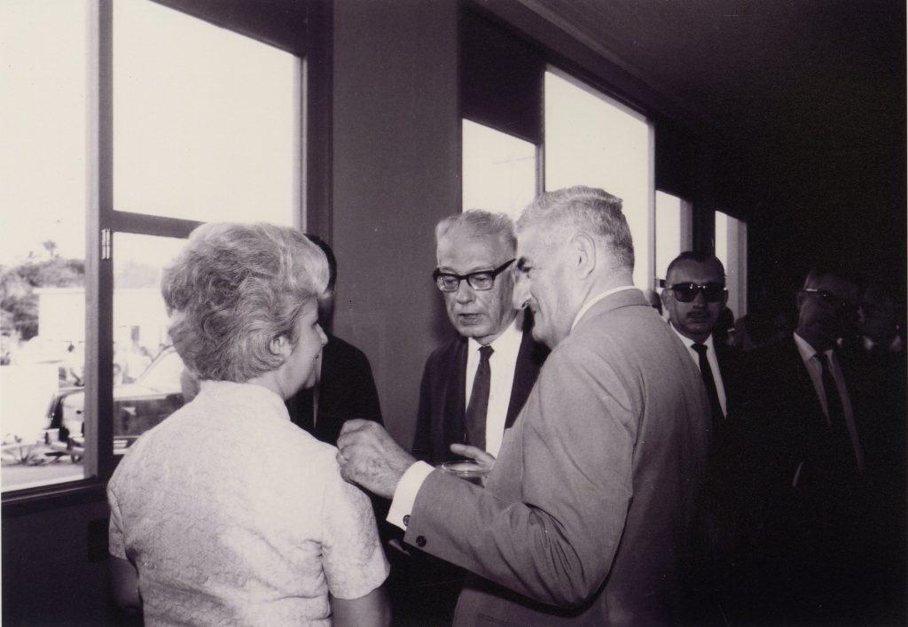 Governador Arthur Reis com esposa e Eduardo Gomes - IDD
