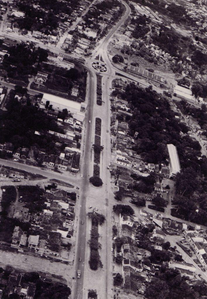 Vista aérea da Avenida Álvaro Maia - Instituto Durango Duarte