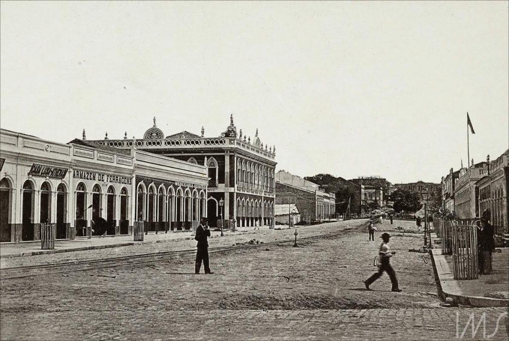 Imagem da Avenida do Palácio