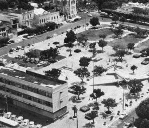 Avião DC-3 na Praça da Saudade - Instituto Durango Duarte