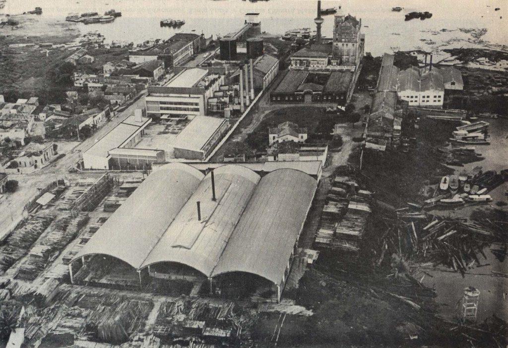 Imagem aérea de Serraria no Bairro da Aparecida - IDD