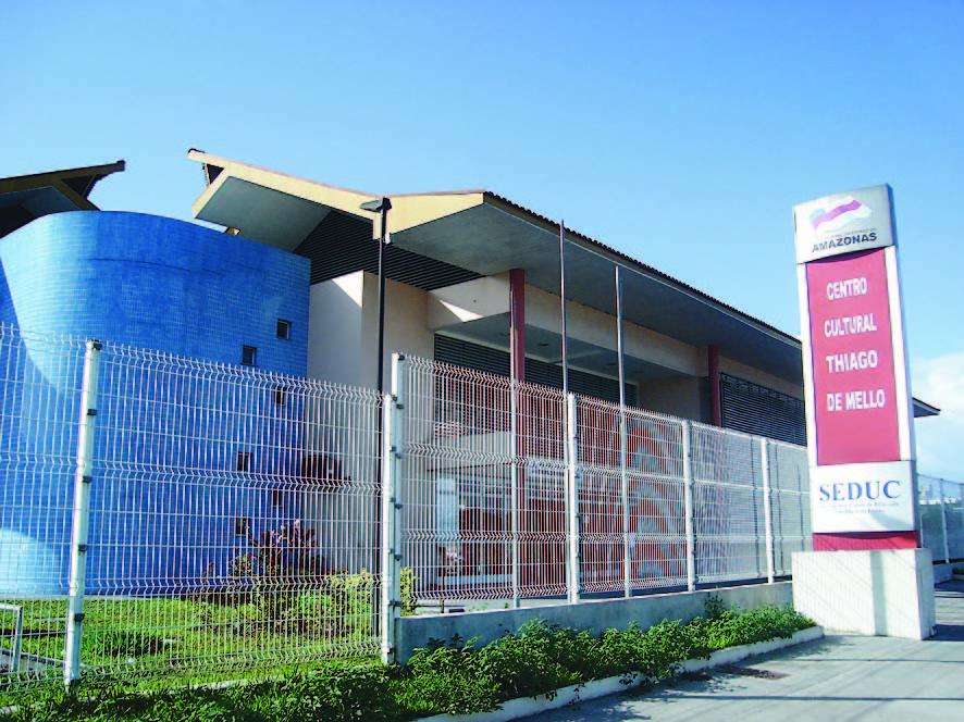 Biblioteca Estadual do Centro Cultural Thiago de Mello