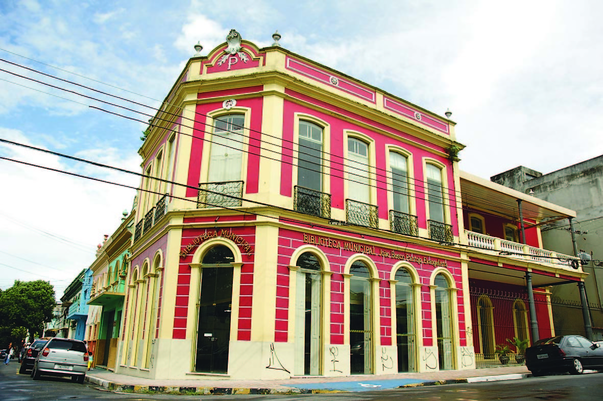 Biblioteca Municipal João Bosco Pantoja Evangelista