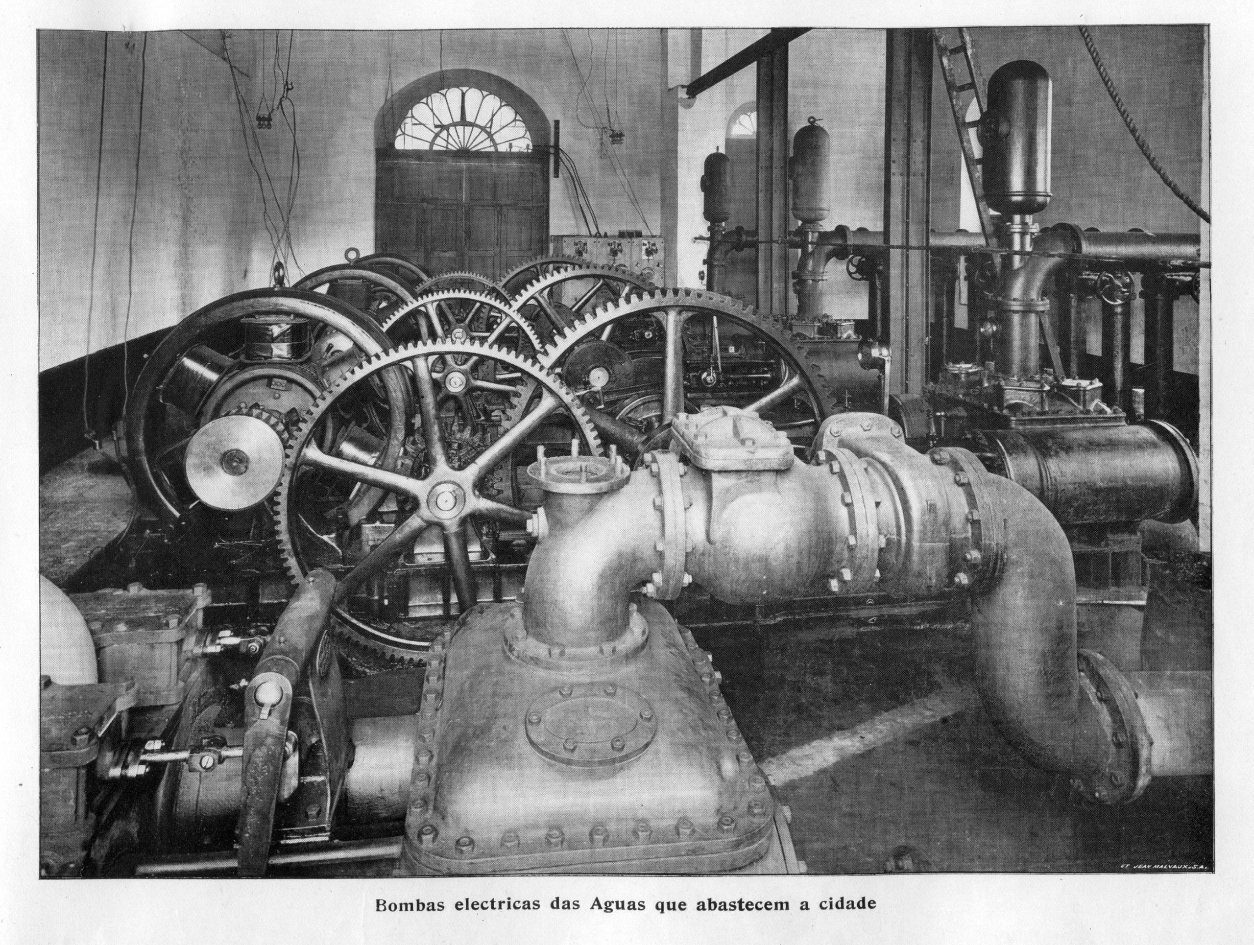Bombas Elétricas do Abastecimento de Água