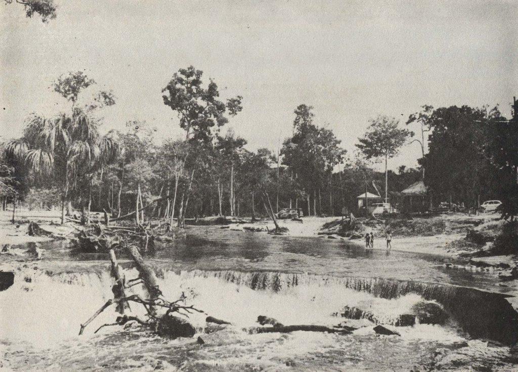 Cachoeira do Tarumã em 1968