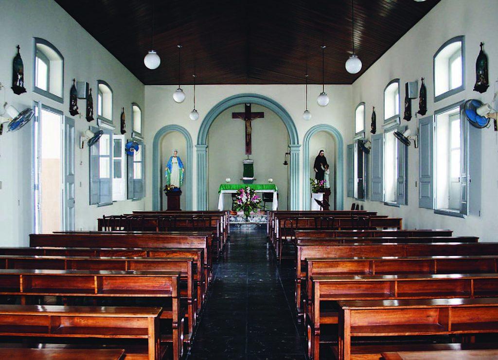 Nave Central da Capela de Santa Paula Frassinetti