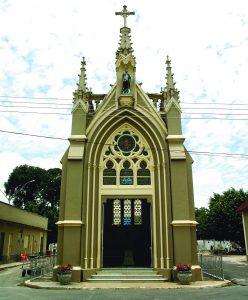 Durango Duarte - Capela do Cemitério São João Batista