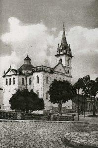 Durango Duarte - Cartão-postal da Igreja de São Sebastião