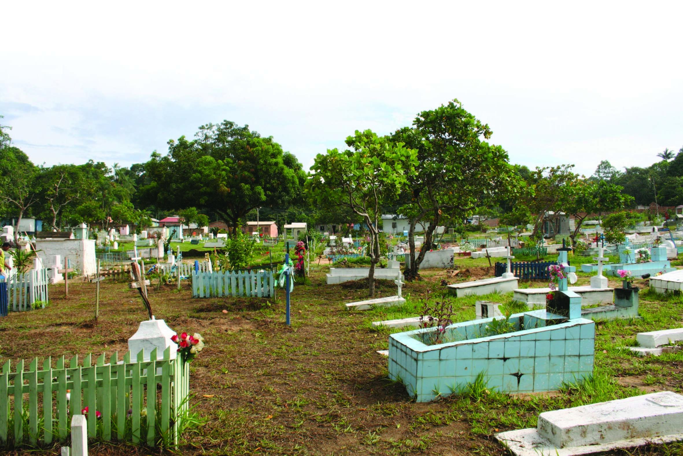 Vista do Cemitério Santo Alberto
