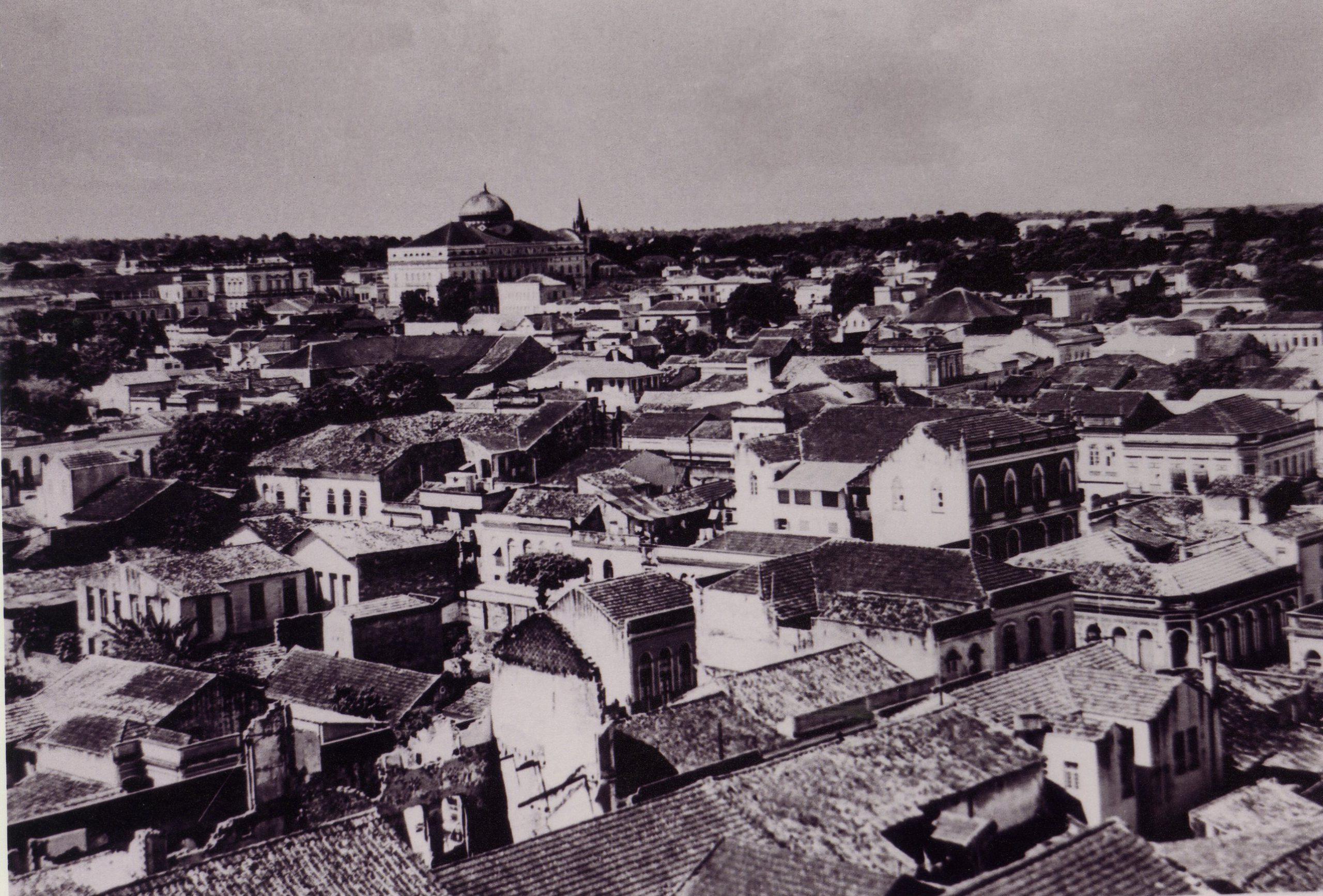Fotografia do bairro Centro de Manaus - Instituto Durango Duarte