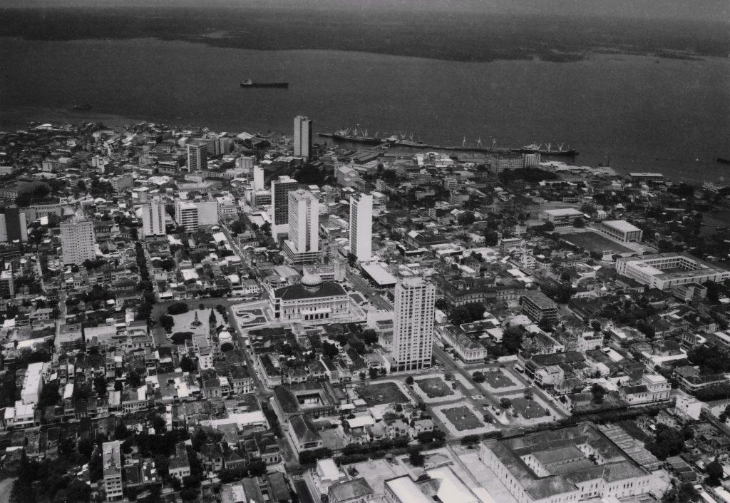 Vista parcial da cidade de Manaus - Instituto Durango Duarte