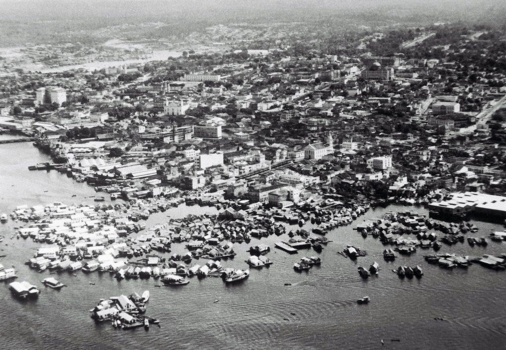 Cidade Flutuante na década de 1960 - Instituto Durango Duarte