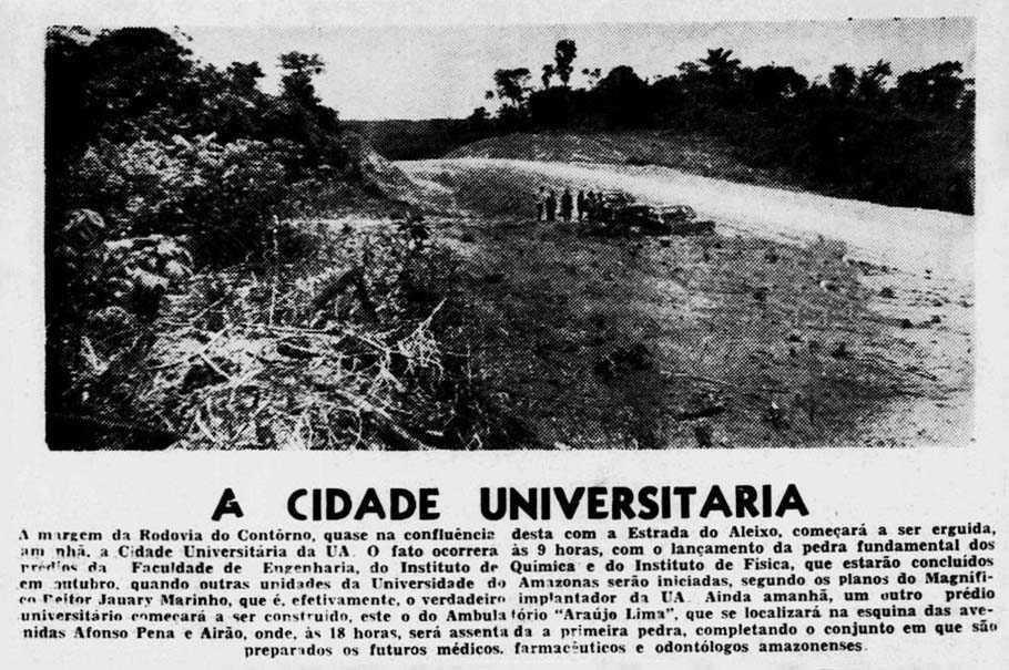 A Cidade Universitária da Universidade do Amazonas