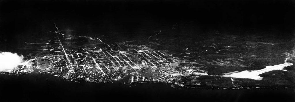 Vista Noturna da Cidade de Manaus