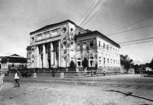 Durango Duarte - Colégio Santa Dorotéia na década de 1950