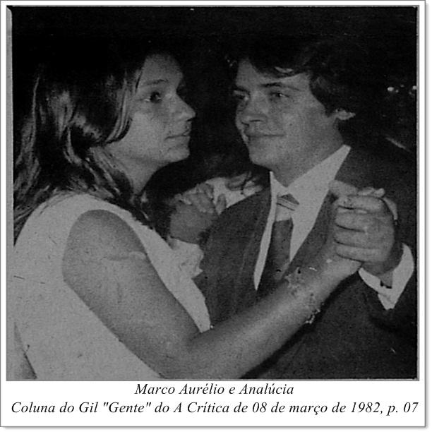 Marco Aurélio e Analúcia - Instituto Durango Duarte 1982