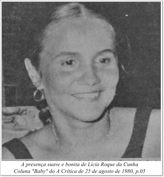 Fotografia de Lícia Roque da Cunha - Instituto Durango Duarte 1980
