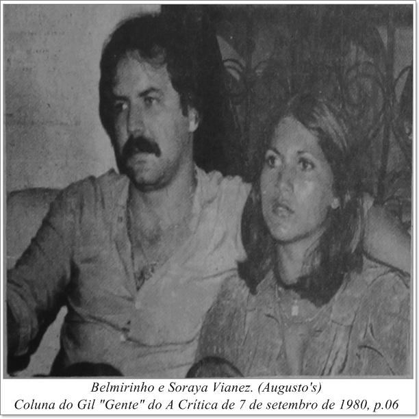 Belmirinho e Soraya Vianez - Instituto Durango Duarte 1980