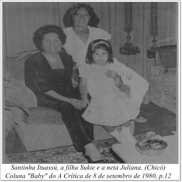 As mulheres da família Ituassú - Instituto Durango Duarte 1980