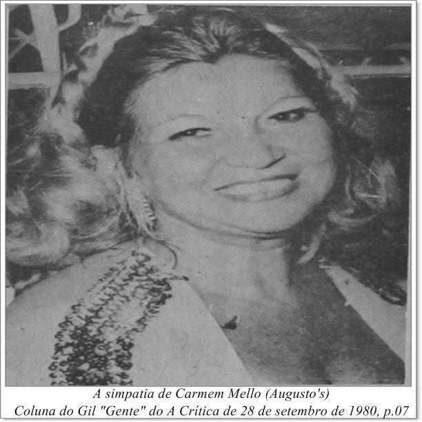 A simpatia de Carmem Mello - Instituto Durango Duarte 1980