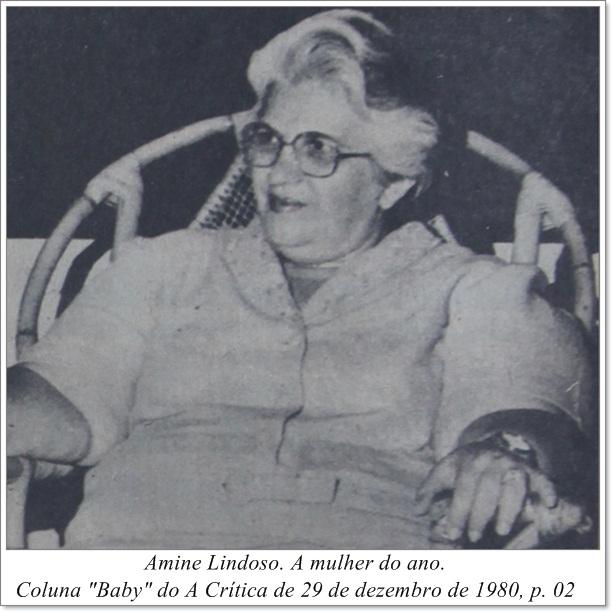 A mulher do ano, Amine Lindoso - Instituto Durango Duarte 1980
