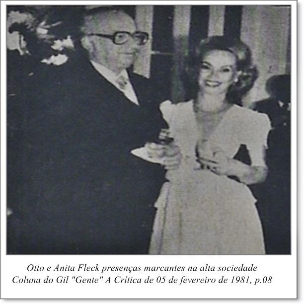 Fotografia de Otto e Anita Fleck - Instituto Durango Duarte 1981