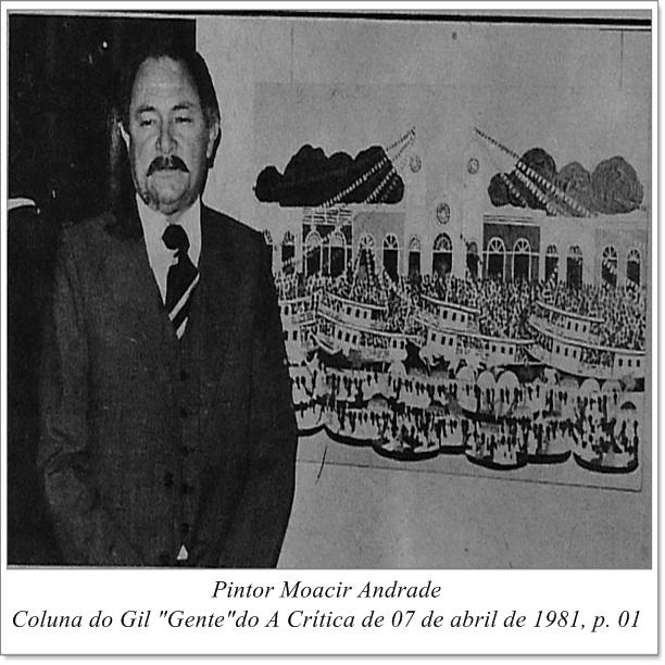 Moacir Andrade na Academia Amazonense de Letras - IDD 1981