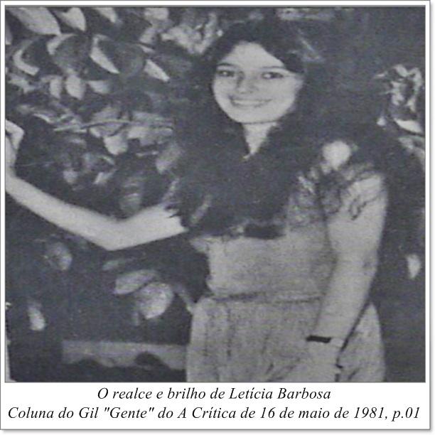 Fotografia de Letícia Barbosa - Instituto Durango Duarte 1981