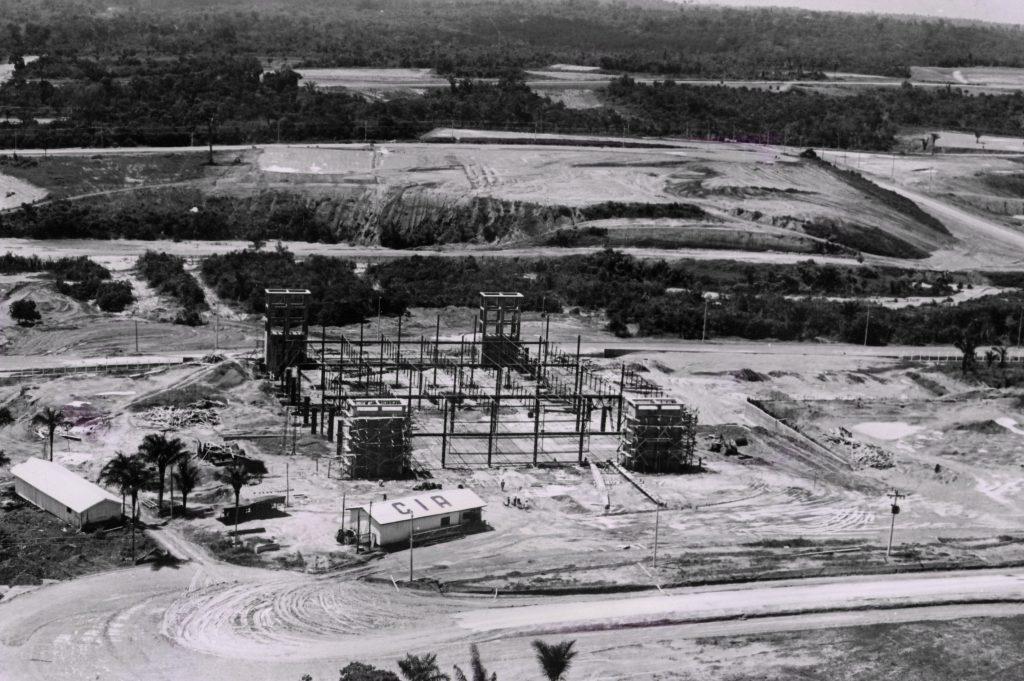 Construção da Companhia Industrial Amazonense - CIA - IDD