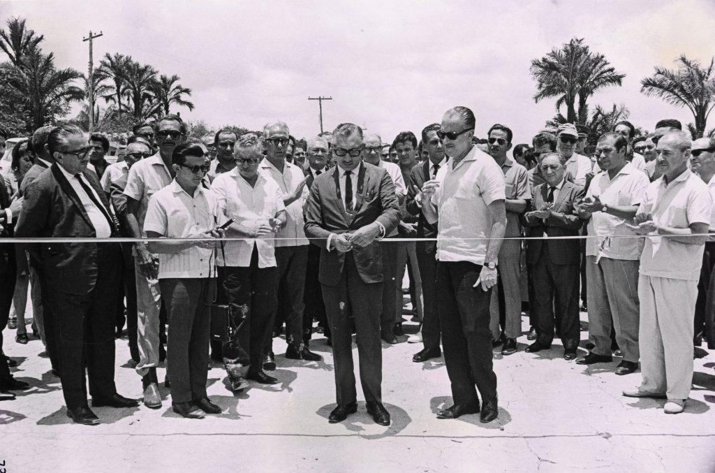 Inauguração Distrito Industrial de Manaus - Instituto Durango Duarte
