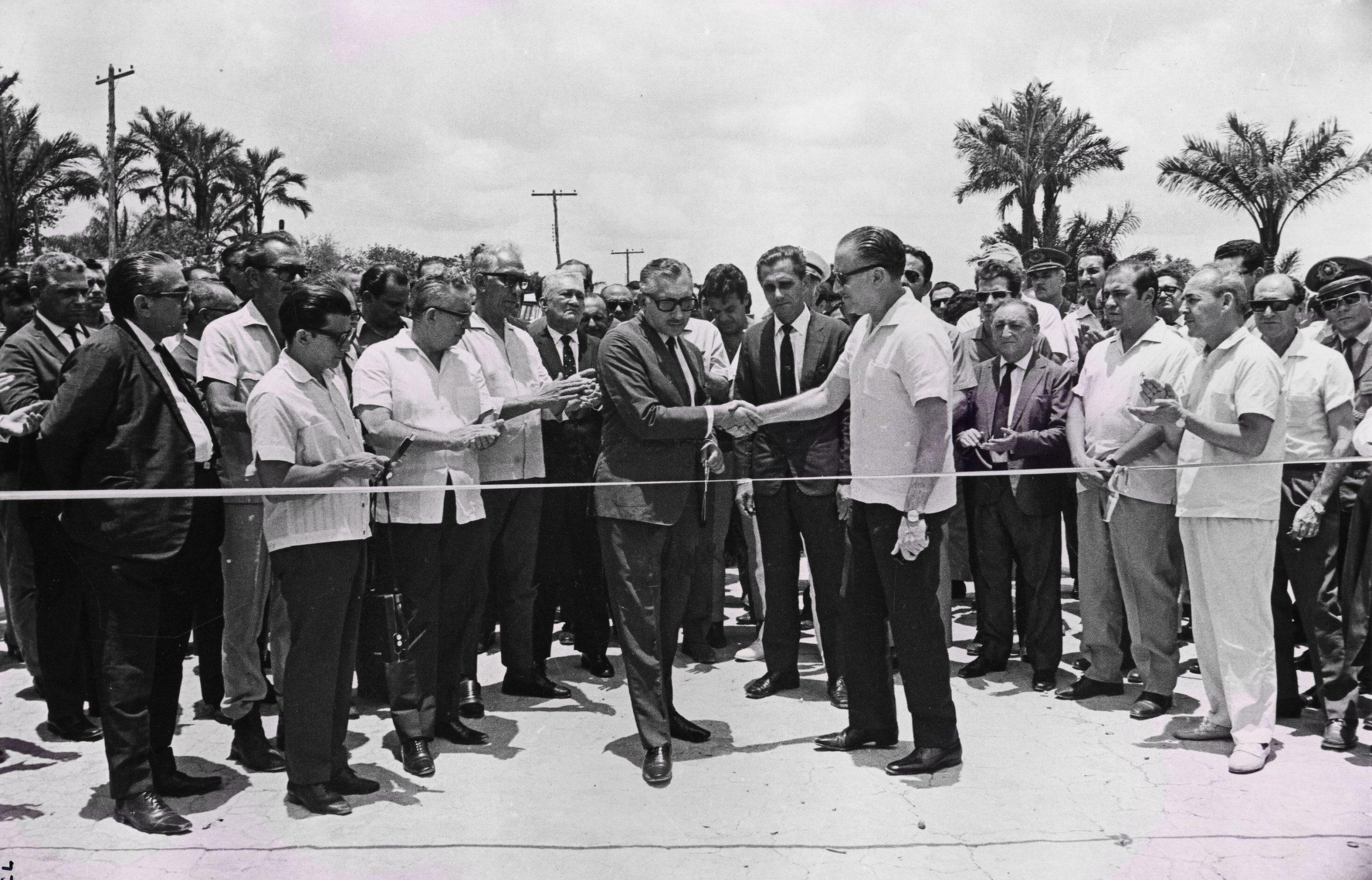 Cerimônia de Inauguração do Distrito Industrial - Instituto Durango Duarte