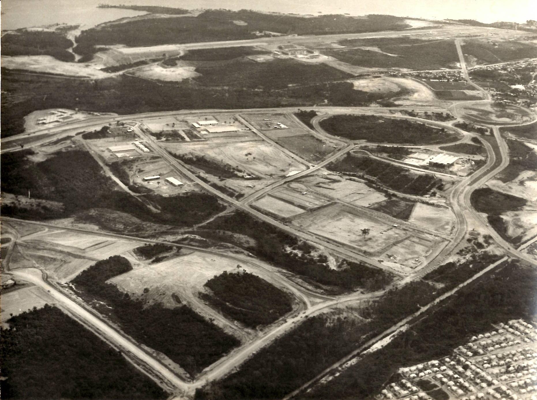 Foto aérea do Distrito Industrial - Instituto Durango Duarte
