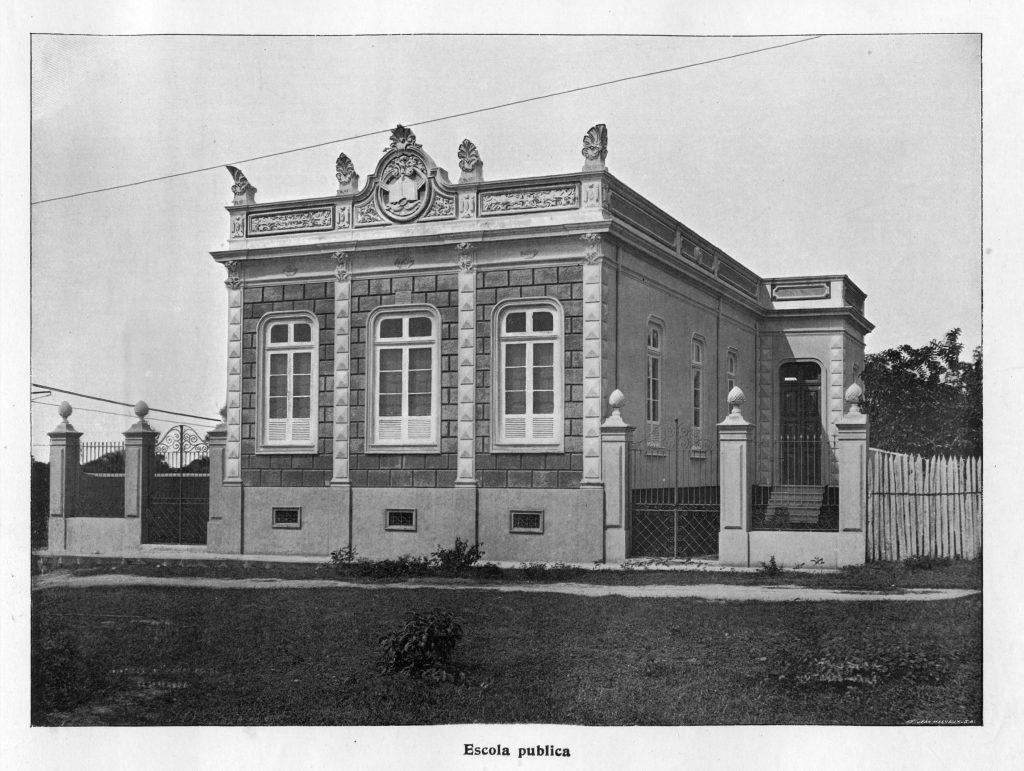 Fachada da Escola Estadual Euclides da Cunha