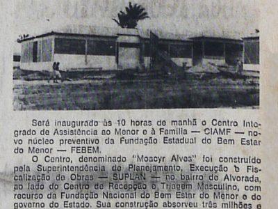 Centro Moacyr Alves – FEBEM