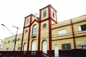 Durango Duarte - Fachada da igreja de Nossa Senhora do Perpétuo Socorro