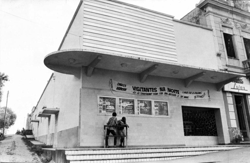 Fachada do Cine Ideal na Década de 1970