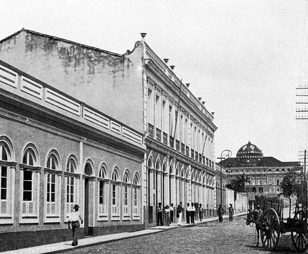 Fachada do Cinema Rio Branco