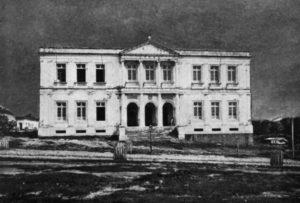 Durango Duarte - Fachada principal do prédio do Liceu