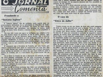 A Semana Inglesa não vingou em Manaus