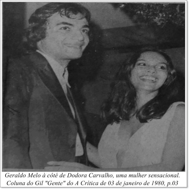 Geraldo Melo e Dodora Carvalho - Instituto Durango Duarte 1980