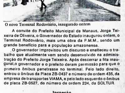 Henoch Reis inaugura Terminal Rodoviário