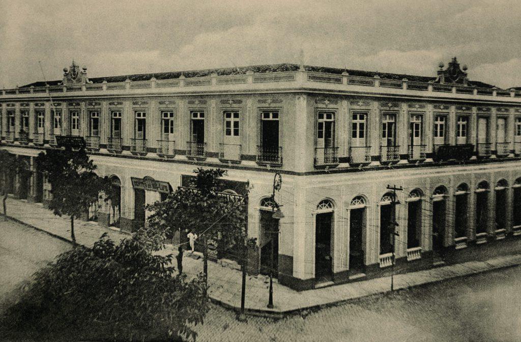 Antigo Prédio do Grande Hotel e seu Restaurante