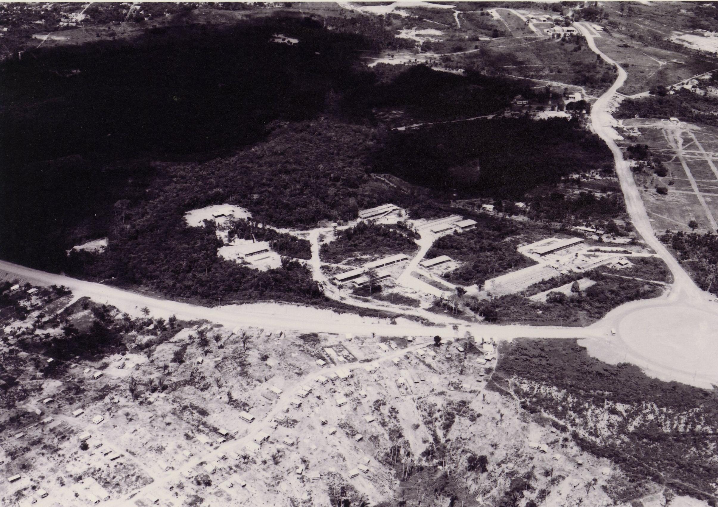 Fotografia aérea do INPA - Instituto Durango Duarte