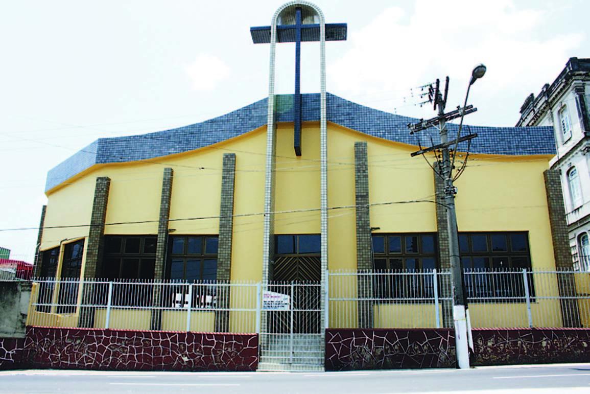 Fachada da Igreja Dom Bosco
