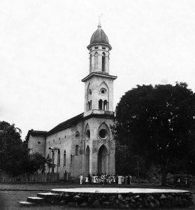 Durango Duarte - Igreja de Nossa Senhora de Nazaré, década de 1940