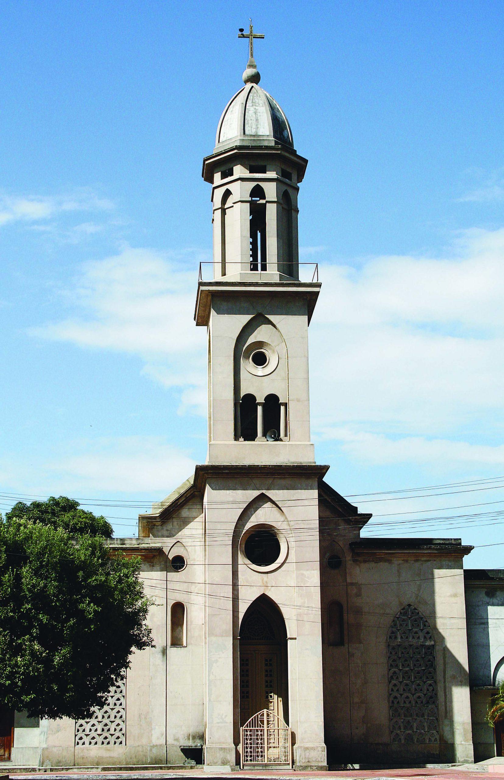 Igreja de Nossa Senhora de Nazaré no Bairro Adrianópolis
