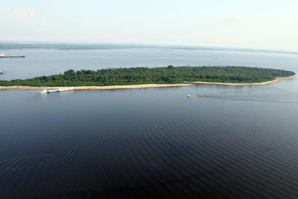 Fotografia da Ilha do Marapata - Instituto Durango Duarte