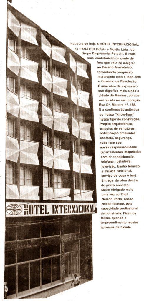 Hotel Internacional, da Panatur