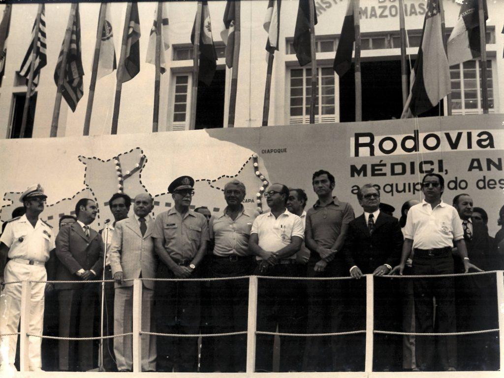 Inauguração da BR-319 - Instituto Durango Duarte